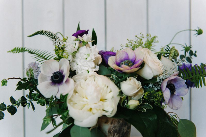 Pretty flower arrangement by florist Confetti Floral in Abbotsford